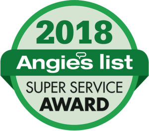 Angie's List Super Service Award for 2018
